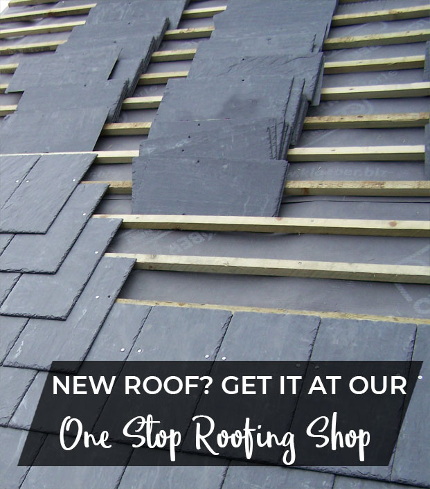 Slates on a Pitched Roof
